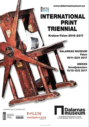 Photo report from the opening ceremony of International Print Triennial Krakow-Falun 2016-2017