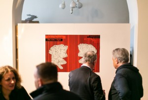 "Photos from the Opening Ceremony of Andrzej Węcławski ""The Note/Zapis"" Exhibition"