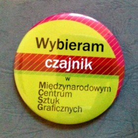 "Magnet ""wybieram czajnik"" / I choose a kettle"