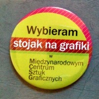 "Magnet ""Wybieram stojak"" / I choose a stand for graphics"