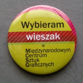 "Magnet ""Wybieram wieszak"" / I choose a coat hanger"